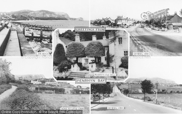 Photo of Penrhyn Bay, Composite c.1960