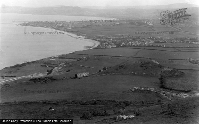 Photo of Penrhyn Bay, From Little Orme c.1939