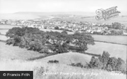 Penrhyn Bay, General View c.1955
