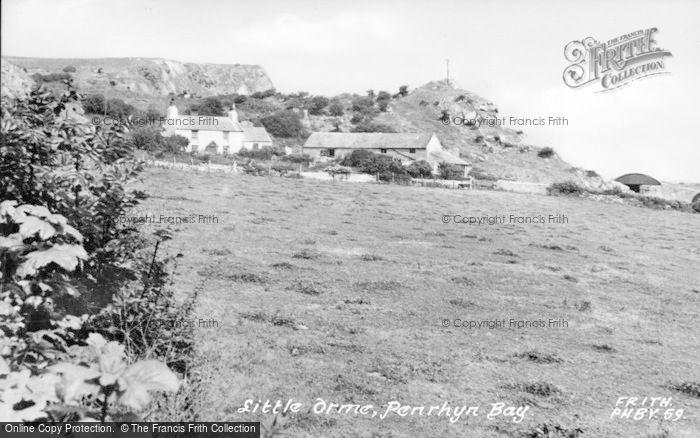 Photo of Penrhyn Bay, Little Orme c.1955