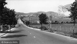 Penrhyn Bay, Llandudno Road Looking Towards Little Orme 1955