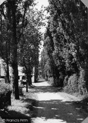 Penrhyn Bay, Old Hall Lane c.1955