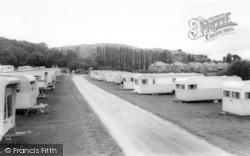 Penrhyn Bay, Penrhyn Hall Caravan Site c.1965