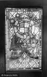 Penrhyn Bay, Penrhyn Old Hall, The Stained Glass c.1965