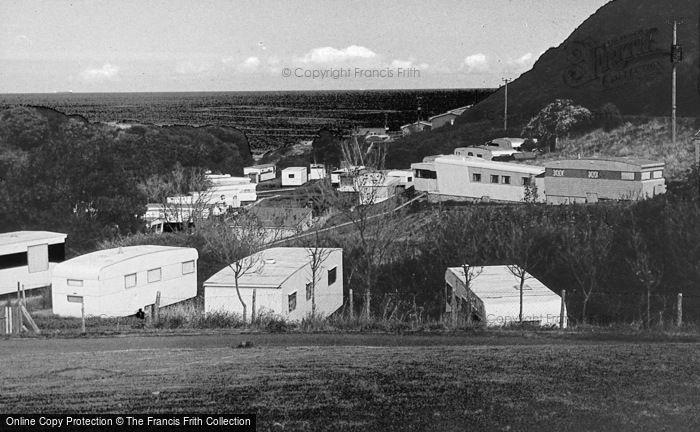 Photo of Penrhyn Bay, Penrhyn Point Caravan Park c.1965