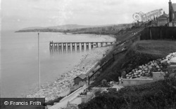 Penrhyn Bay, Penryhn Beach And Bay c.1939