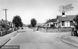 Penrhyn Bay, Presbyterian Road, Penrhyn Isaf Road c.1955