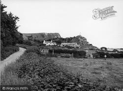 Penrhyn Bay, Road To Little Orme 1954