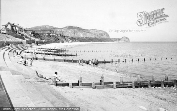 Photo of Penrhyn Bay, The Beach And Little Orme c.1955