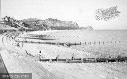 Penrhyn Bay, The Beach And Little Orme c.1955