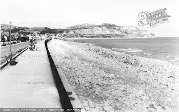 Photo of Penrhyn Bay, The Promenade 1960