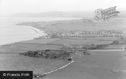 Penrhyn Bay, The Two Bays From Little Orme c.1939