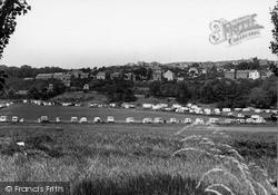 Penrhyn Bay, Town And Caravan Site c.1955