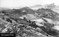 Penrhyndeudraeth, A View From The Rallt c.1950