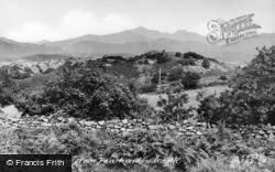 A View Of Snowdon c.1955, Penrhyndeudraeth