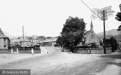 Trinity Church And Street 1935, Penrhyndeudraeth