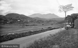 View Of Moelwyn Mountains 1935, Penrhyndeudraeth
