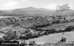 View Of Snowdon c.1955, Penrhyndeudraeth