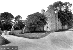 Penrice, The Castle, Tower Lodge 1910
