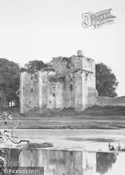 Penrith, Brougham Castle, From The River Eamont c.1873