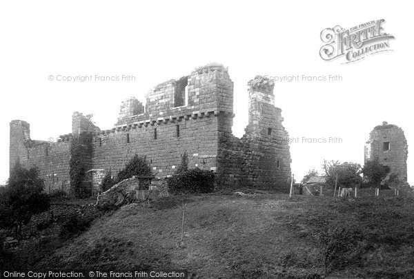 Photo of Penrith, Castle 1893