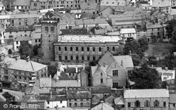 Penrith, Church From The Air c.1953