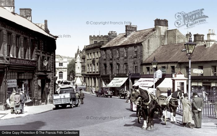 Penrith, Cornmarket c1955.  (Neg. P33013t)  © Copyright The Francis Frith Collection 2008. http://www.francisfrith.com