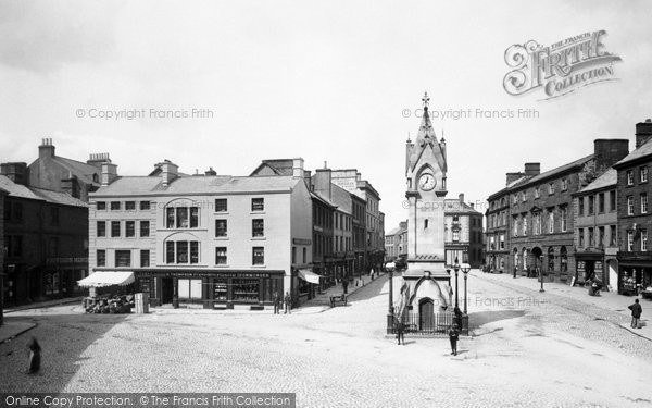 Penrith, Market Place 1893.  (Neg. 32923)  © Copyright The Francis Frith Collection 2008. http://www.francisfrith.com