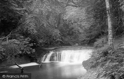 Penrith, Nunnery Walks Waterfall 1893