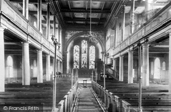 Penrith, Parish Church Interior 1893