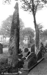 Penrith, St Andrew's Church, The Giant's Grave 1893