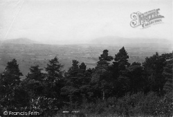 Penrith, View From Beacon Towards Skiddow 1893