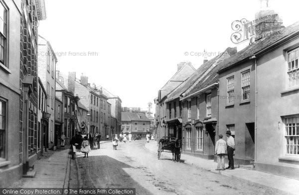 Photo of Penryn, Broad Street 1897