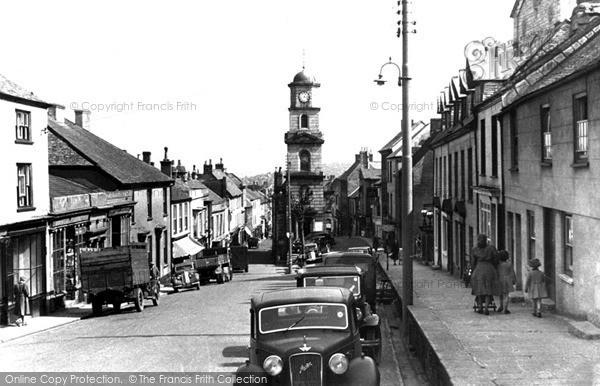 Photo of Penryn, Broad Street Looking South c.1955