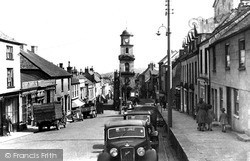 Penryn, Broad Street Looking South c.1955