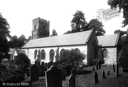 Penryn, Church Of St Gluvias 1890