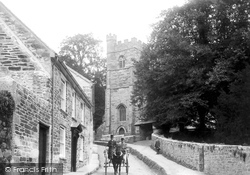 Penryn, Church Of St Gluvias 1904