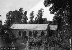 Penryn, Church Of St Gluvias c.1932