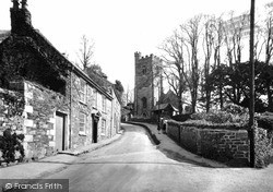 Penryn, Church Of St Gluvias c.1933