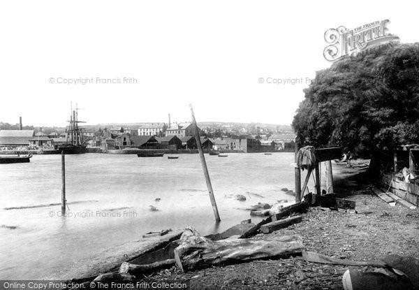Photo of Penryn, From The River 1890