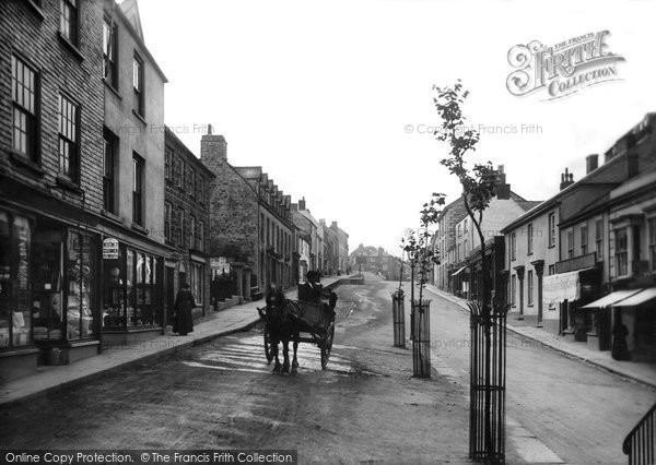 Photo of Penryn, Higher Market Street 1904
