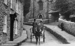 Penryn, Horse And Trap 1904