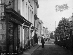 Penryn, Lower Street c.1932