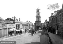 Penryn, Market Street 1890