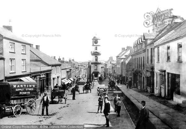 Photo of Penryn, Market Street 1897