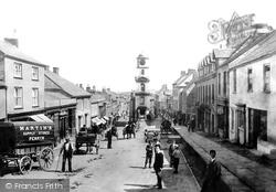 Penryn, Market Street 1897