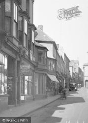 Penryn, Market Street c.1933