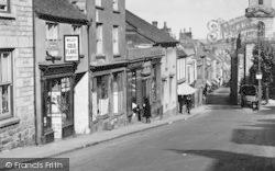 Penryn, Market Street Shops c.1932