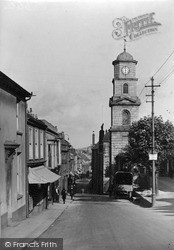 Penryn, The Clock Tower c.1933
