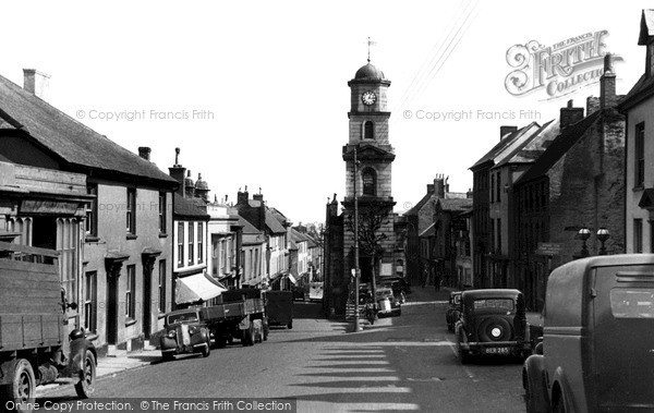 Photo of Penryn, The Clock Tower c.1950
